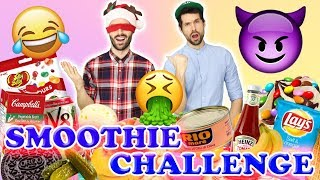 SMOOTHIE CHALLENGE AVEC ISAAC - CARL IS COOKING