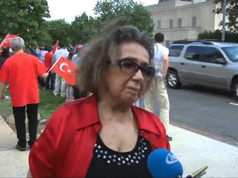 Protest Against Armenian Demonstration in front of the Turkish Embassy