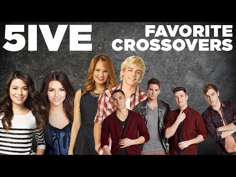Big Time Rush & Victoria Justice, Austin & Jessie & Ally  Top 5 Crossovers