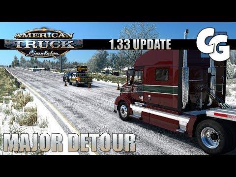 ATS - 1.33 Update - Major Detour - Part 1