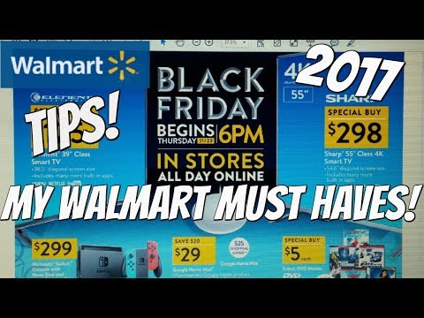 WALMART BLACK FRIDAY 2017! MY  walmart black friday ad 2017