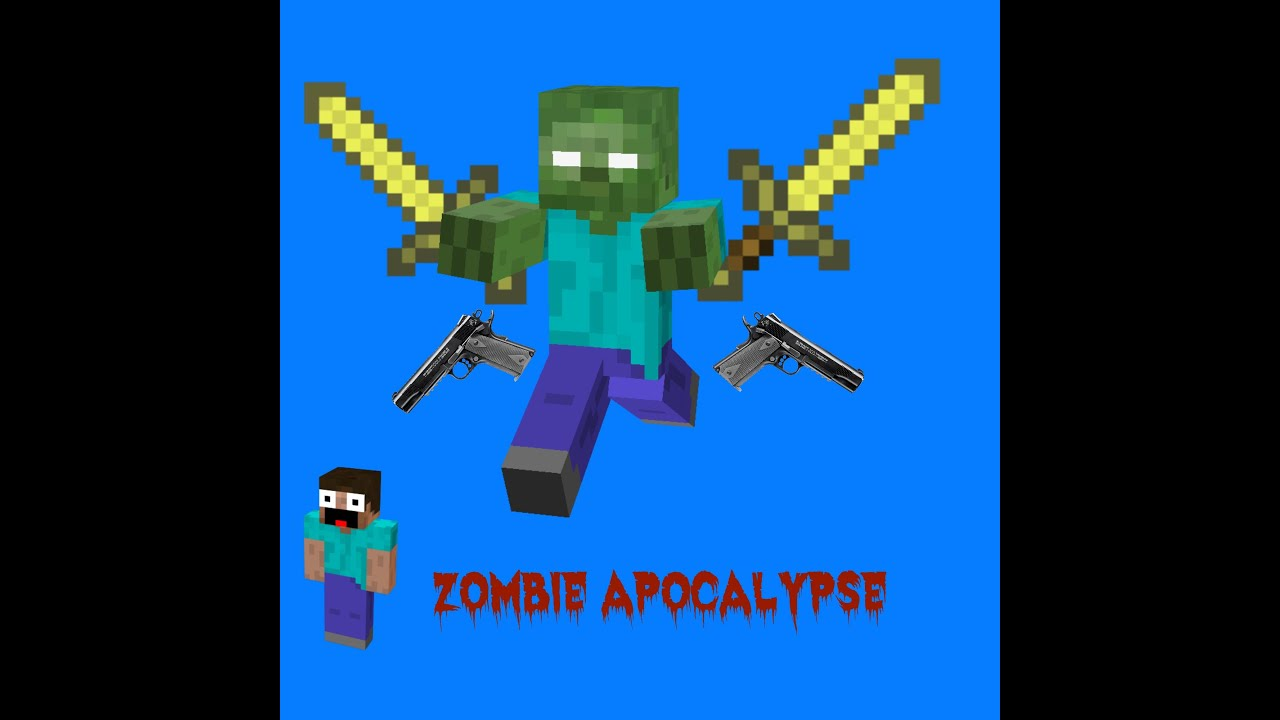 Minecaft ZOMBIE BY F11 - YouTube