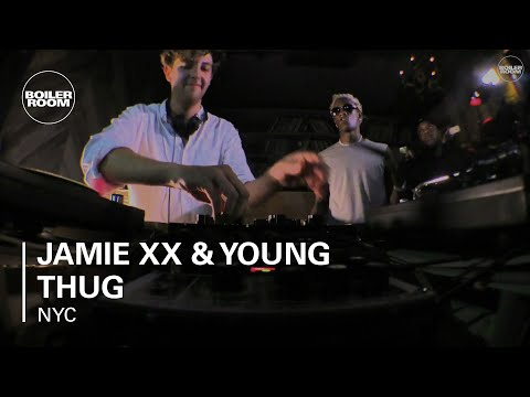Jamie xx & Young Thug Boiler Room NYC Live Performance