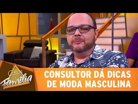 Casos de Família (16/05/17) - Consultor dá dicas de moda masculina