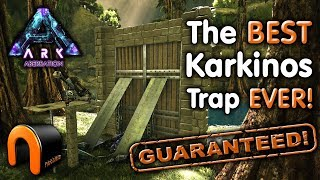 ARK Nooblets BEST CRAB TRAP EVER! How To Tame A Karkinos