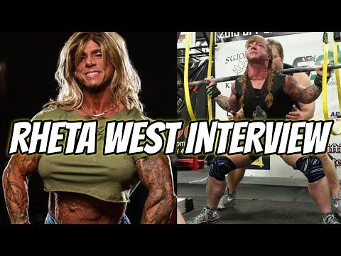 THE MOST HARDCORE WOMAN IN BODYBUILDING? Rheta West Interview