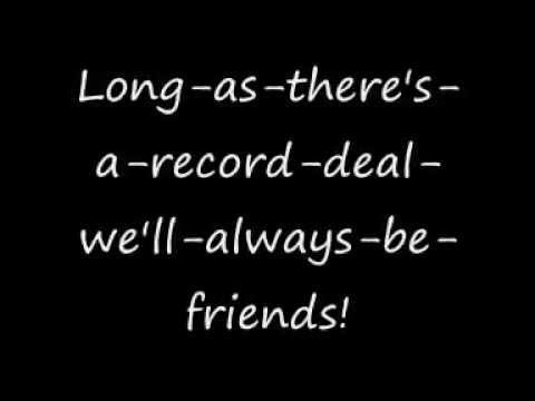 Tenacious D - Friendship - Audio with lyrics