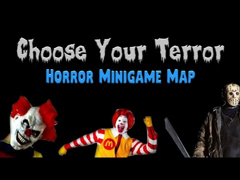 Choose Your Terror Minigame Map (Trailer)