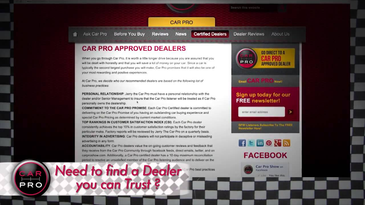 Car Pro Advice How To Find A Local Car Dealer You Can Trust P - Car pro show dealers