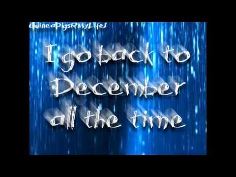 Taylor Swift Back To December Lyrics (HD)