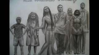 My Drawing of The Addams Family (Musical Cast Version)