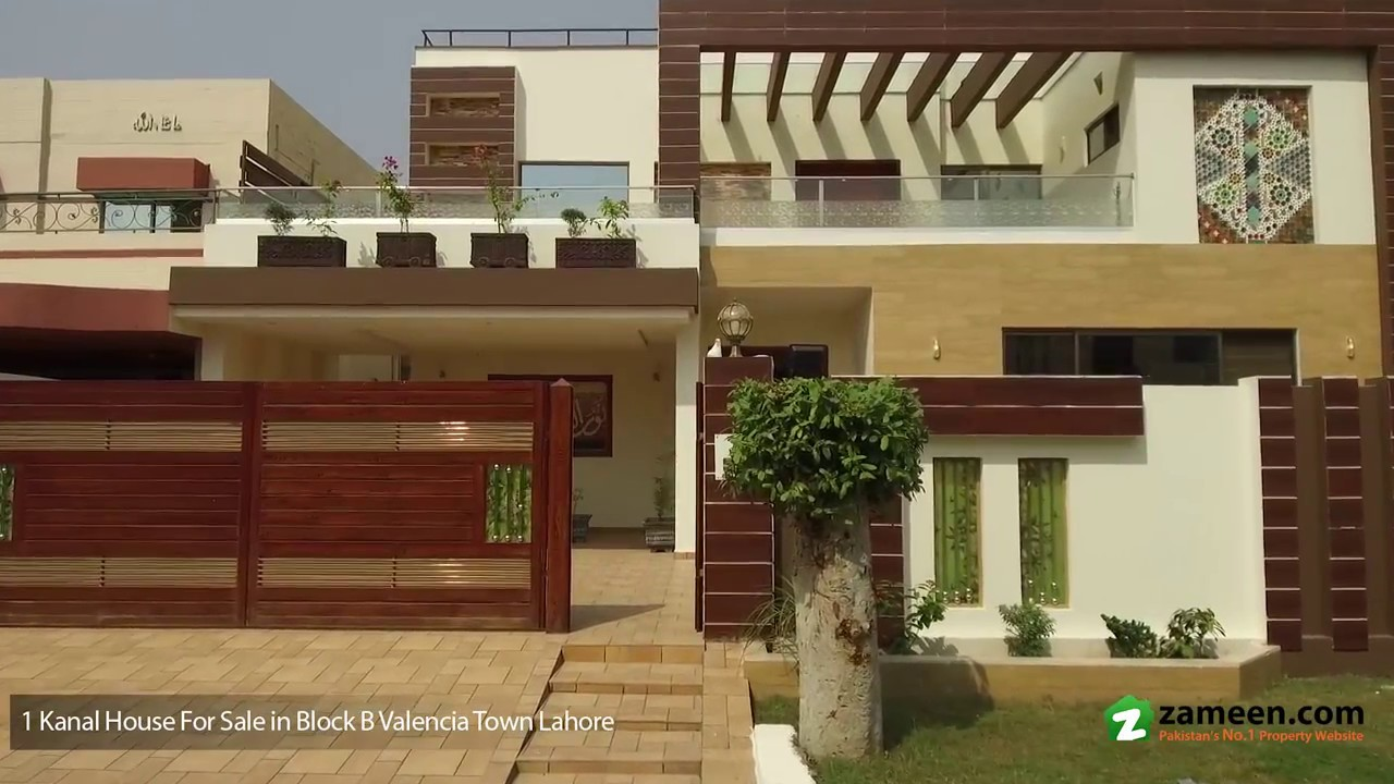 1 kanal double unit house is available for sale in block b valencia housing society lahore