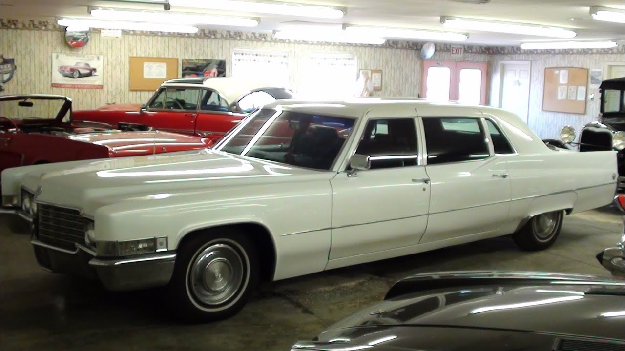 1969 Cadillac Fleetwood Limo 472 V8 Custom Pearl Paint Low Original