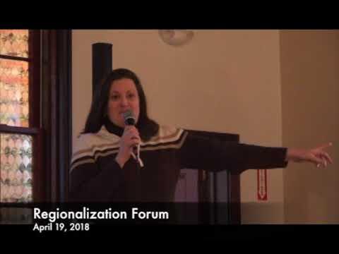 Regionalization Forum 04.19.18