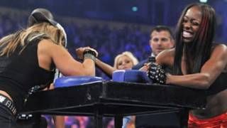 WWE NXT: NXT Rookie Diva Challenge: Arm Wrestling Contest
