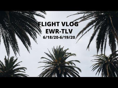 Flight Vlog EWR-TLV (During Corona Time)