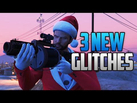 GTA 5 Online - 3 NEW Glitches & Tricks in GTA 5! (Free Yacht Customizations & More)