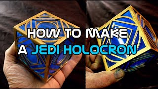 Star Wars Jedi Holocron DIY - lifesized holocron prop