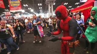Deadpool vs New York Comic con di D Piddy