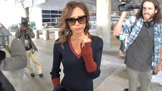 Victoria Beckham Cold As Ice When Congratulated On Spice Girls Reunion