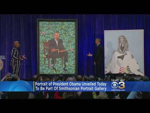 Obama Portrait Unveiled At Smithsonian's National Portrait Gallery