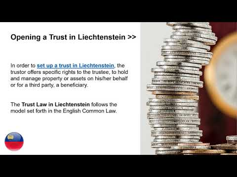 Set Up a Trust in Liechtenstein
