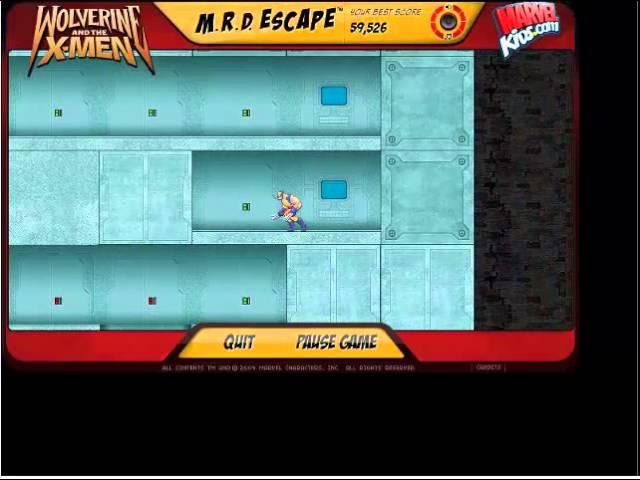 wolverine mrd escape game free