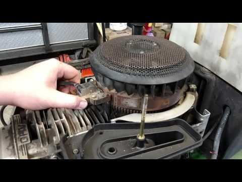 How to gap a coil on a Briggs and Stratton