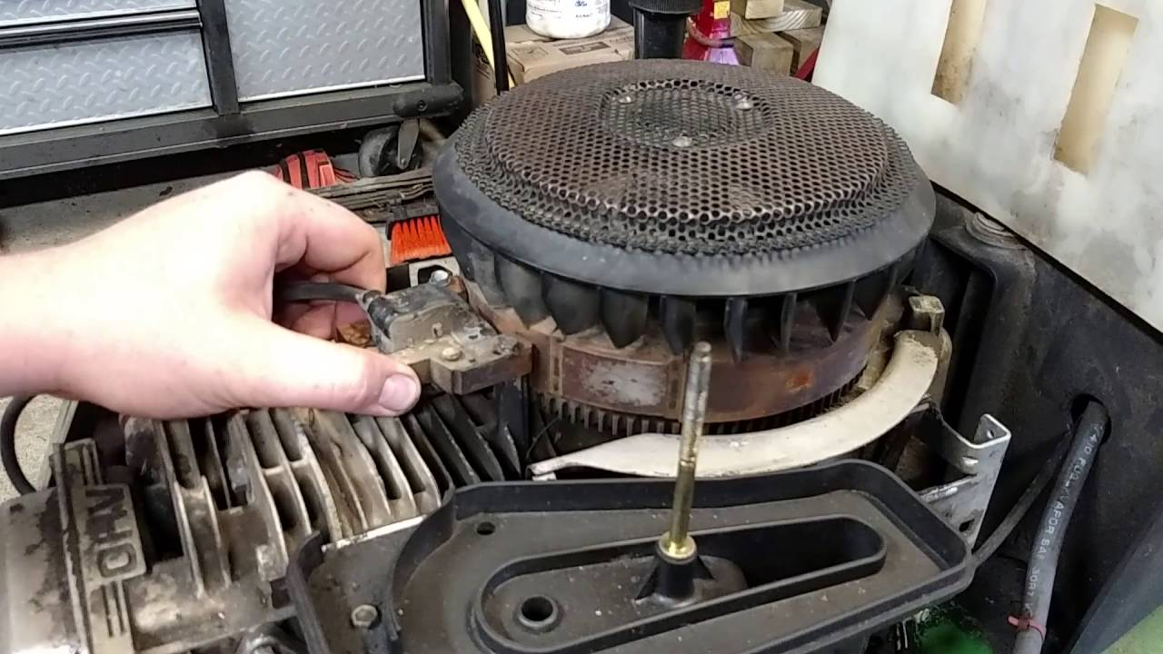 110 Engine Timing Diagram How To Gap A Coil On A Briggs And Stratton Youtube