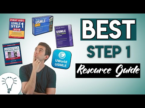 The BEST USMLE Step 1 Resources!
