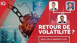 Faut-il s'attendre à un Retour de la Volatilité ? @IG France @tradosaure