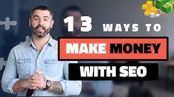 Every Possible Way to Make Money in SEO - CASE STUDIES