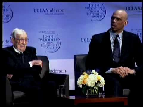 Coach John Wooden in Conversation with Former Players at the 2010 John Wooden Global Leadership Awar