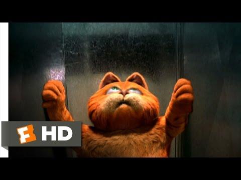 Garfield (4/5) Movie CLIP - Ventilation Shaft Ride (2004) HD