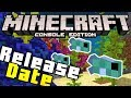 Minecraft AQUATIC UPDATE RELEASE DATE! (PS4, Xbox One, MCPE)