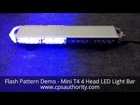 Cps Mini Raptor T4 Led Lightbar Doovi