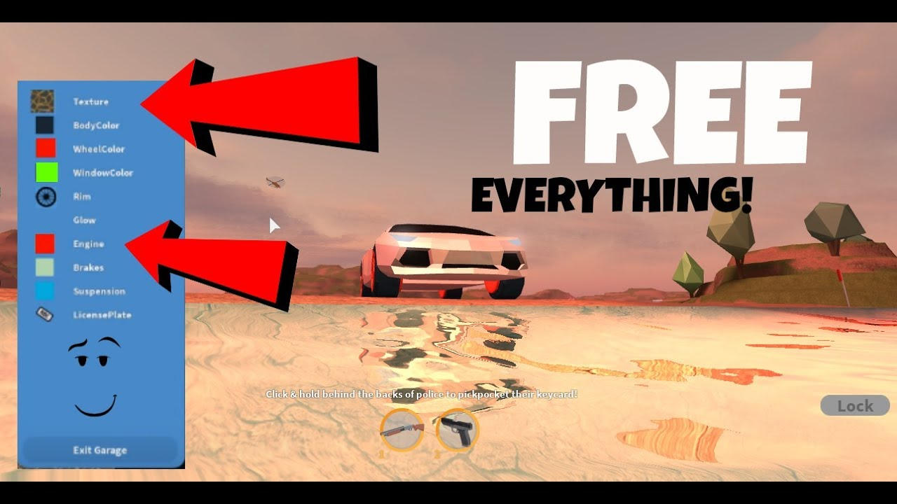 how to get everything free in roblox