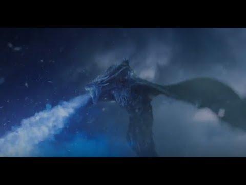 Rei da Noite Derruba Muralha com Viserion Game of Thrones S07E07