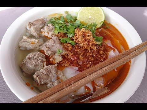 How to make know soy Lao food