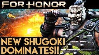 HUGEEEE SAMURAI DOMINATES For Honor Gameplay - Multiplayer Dominion