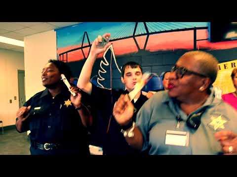 Charleston County Sheriff's Office lip sync challenge My House