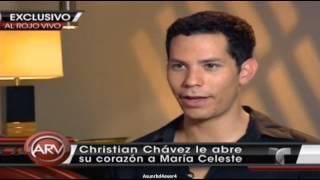 Christian Chávez, primera entrevista tras ser víctima de violencia doméstica (ARV) - Parte 1