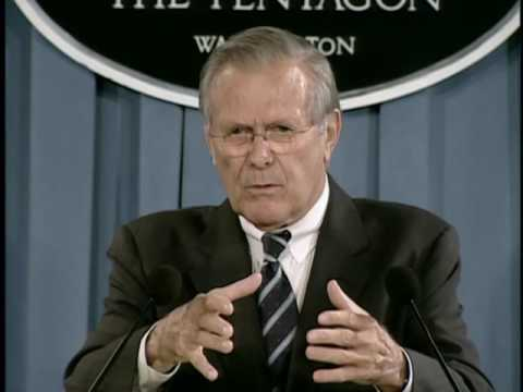 OASD: DoD News Briefing with Secretary Rumsfeld from the Pen