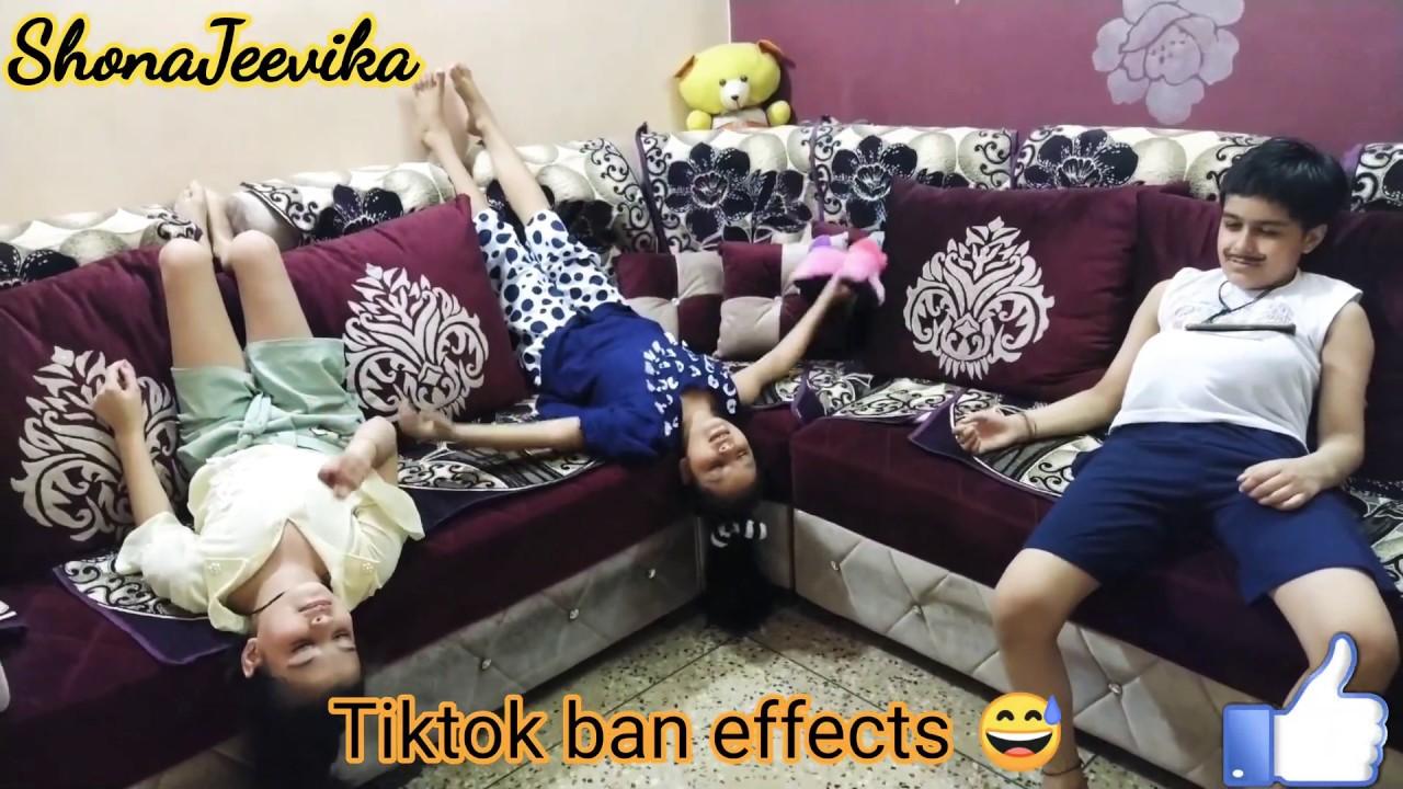 Tiktok Ban Affects | Tiktokers Reaction | Funny Video | Shona Jeevika | 2020