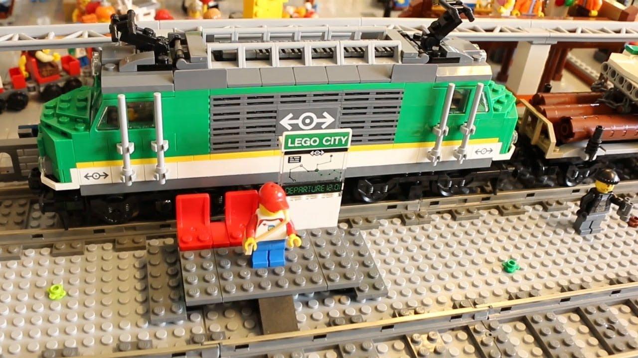 Lego City Personenzug 60197 Güterzug 60198 Im Review Youtube