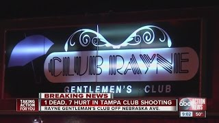 Eight people were shot at Club Rayne, a Tampa strip club