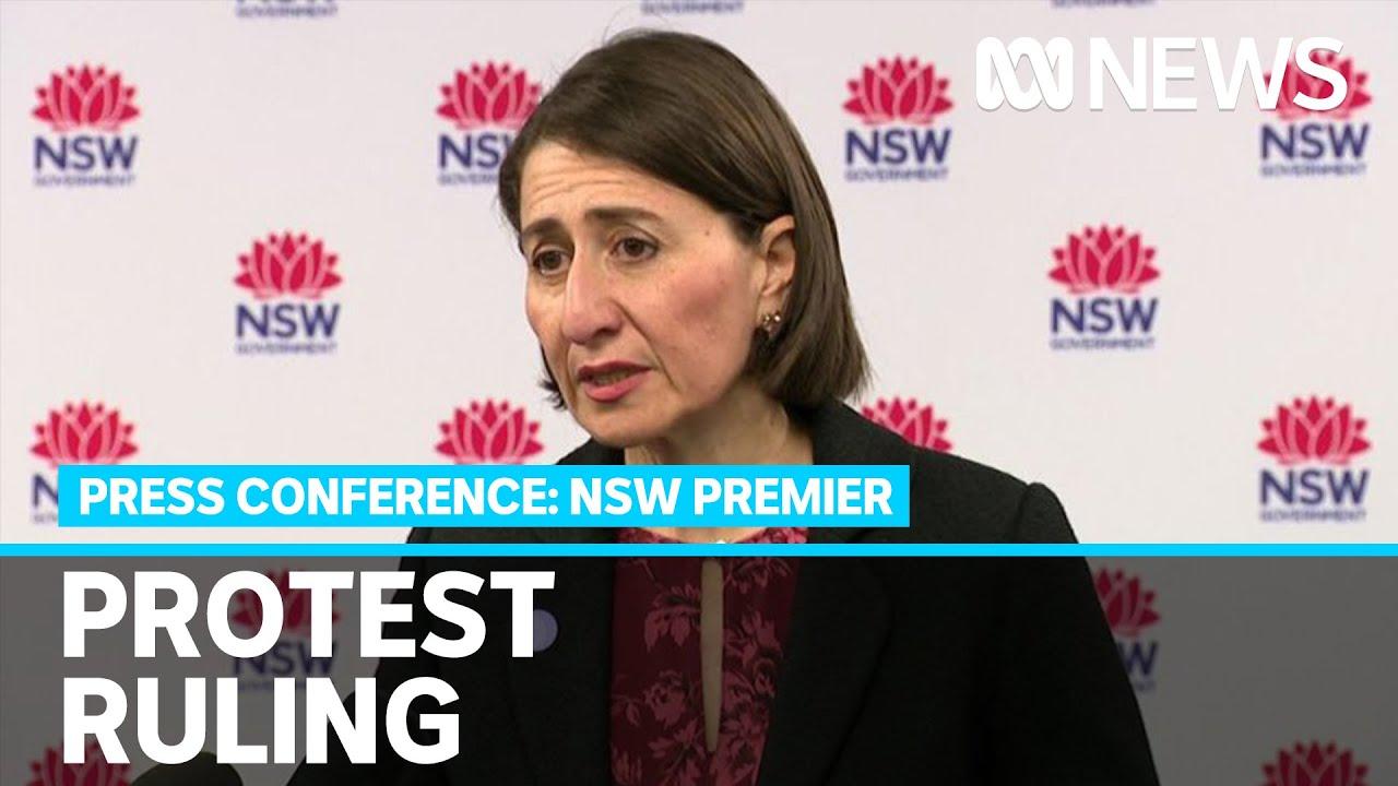 NSW Premier says she seeks to make planned #BlackLivesMatter protests illegal | ABC News