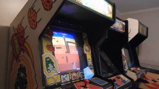1982 Atari Arcade Classic Dig Dug Upright Review Coin-Op