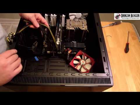 How to cable a PC inside the Fractal Design Define S