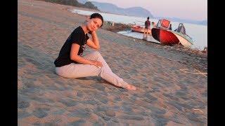 Лебяжъе, Красноярское море, жара песок и девушки